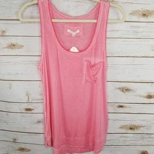 [Anthro] Pure + Good pink tank / NWT